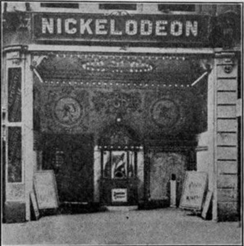 First ever movie theater