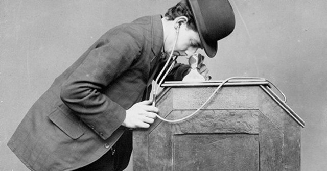 "The ""peephole kinetoscope"" is introduced to the public."