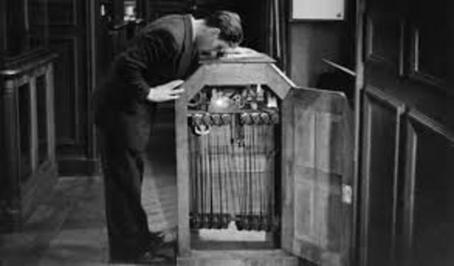 The invention of the Kinetoscope