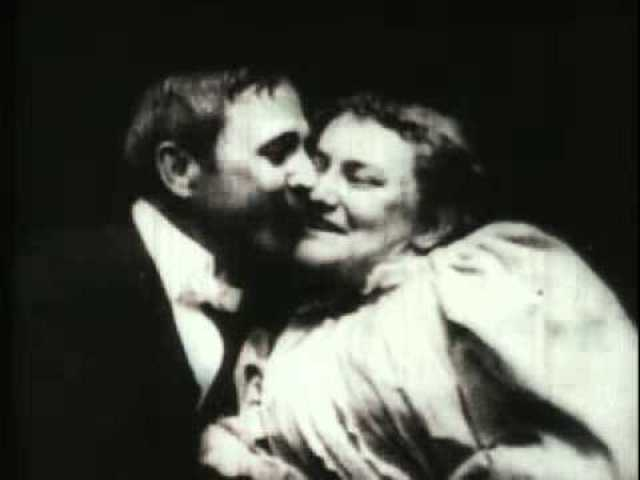 The First Kiss On Film - The Kiss By: Thomas Edison