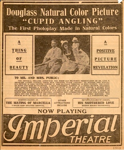 First Movie in Color - Cupid Angling