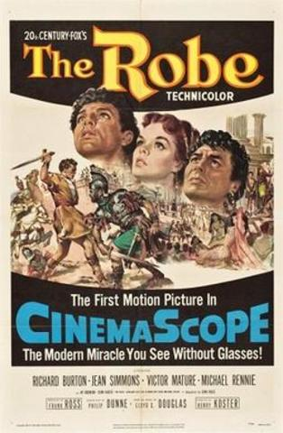 First film to be released in CinemaScope