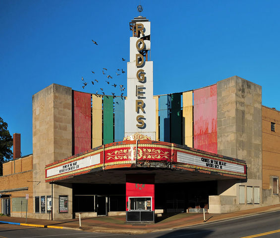 FIRST MOVIE THEATERS OPENED