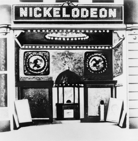 Nickelodeon theaters