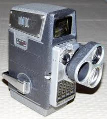 The Bell & Howell 2709 movie camera