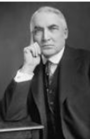 President Harding's Return to Normalcy