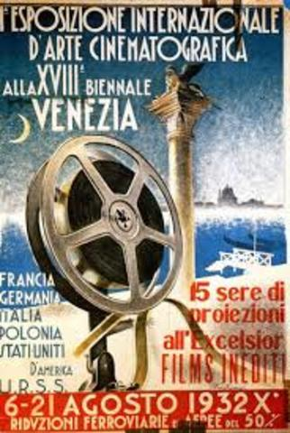The first film festival