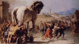 Trojan War by Halima Salat timeline