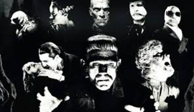 Universal Monsters (The Sliver Age of Horrors) (1930-1959)