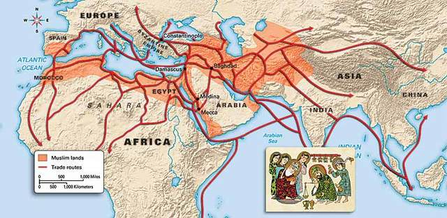 Arab/Muslim Monopolizing trade