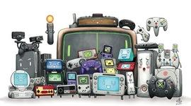 Historia de las videoconsolas - Un repaso cronológico a la historia de las consolas de videojuegos, destacando la fecha en que se pusieron a la venta las diferentes máquinas y sus principales características técnicas. timeline