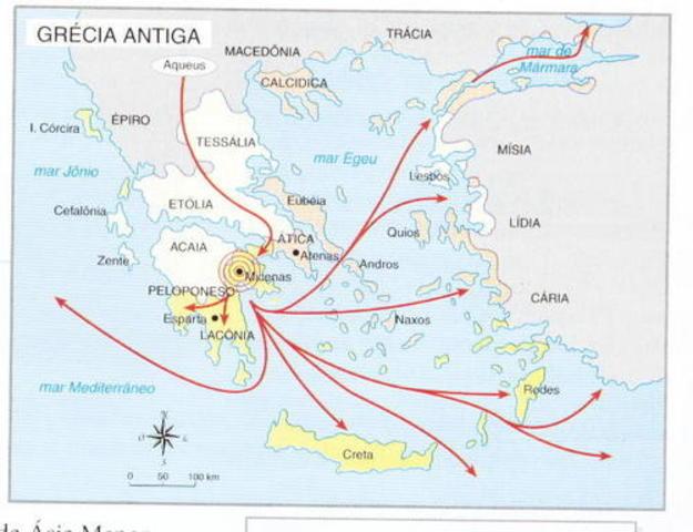 Primeira Diáspora (Grécia)