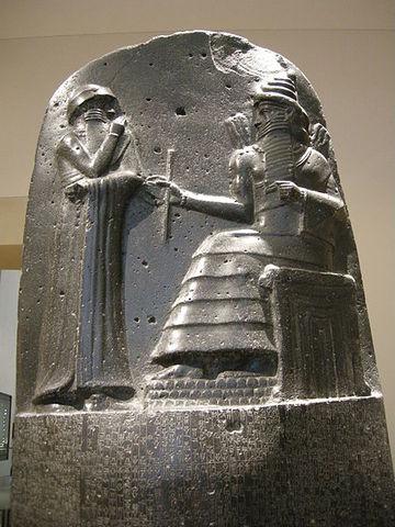Criação do Código de Hamurabi