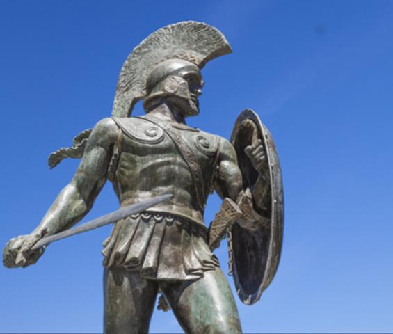 Criação do Estado espartano