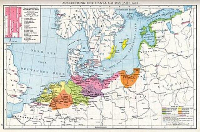 Formação da liga Hanseática