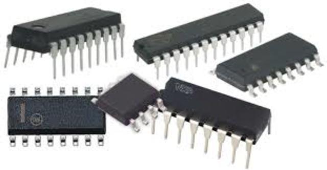 Los primeros circuitos integrados.