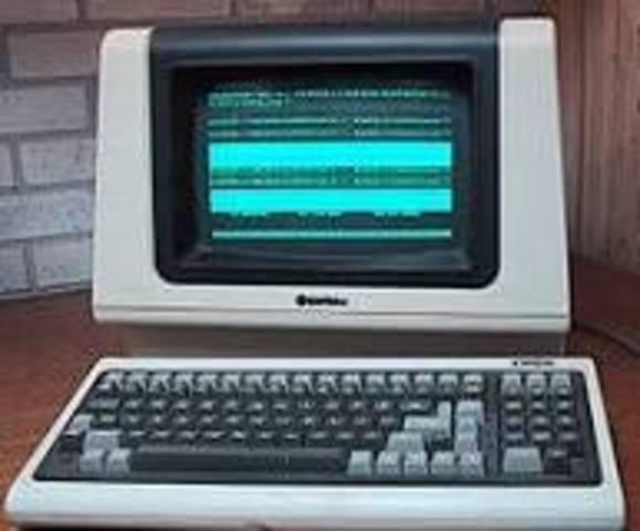 Las primeras terminales para computadoras.