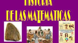 Progreso científico matemático hasta la Modernidad. timeline