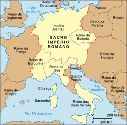 Formação do Sacro Império Romano Germânico