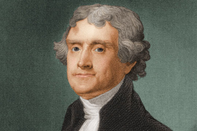 Thomas Jefferson was elected president