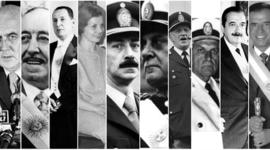 Presidencias 1966 - 2007 timeline