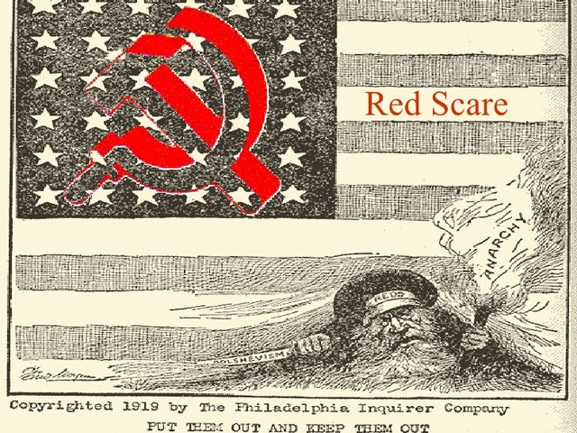 •	Red Scare