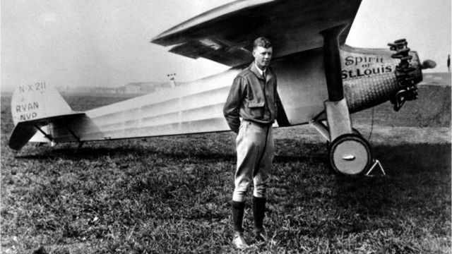 •	Charles Lindbergh's Trans-Atlantic Flight (1927)