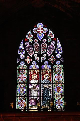 Vidriera Gótica