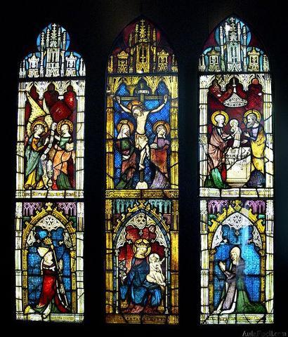 Temas de los vitrales