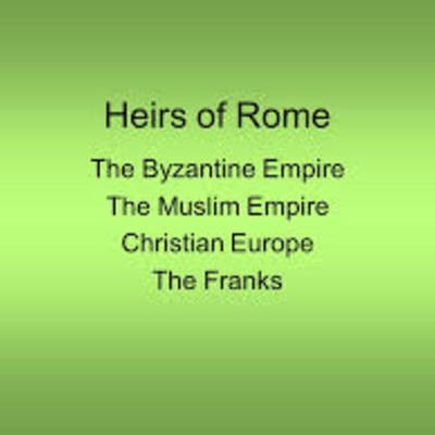 The Heirs of Rome: Byzantium, Islam, and Latin Christendom timeline