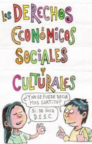 Pacto de los derechos económicos sociales y culturales