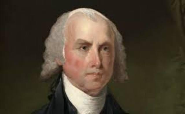 James Madison timeline | Timetoast timelines