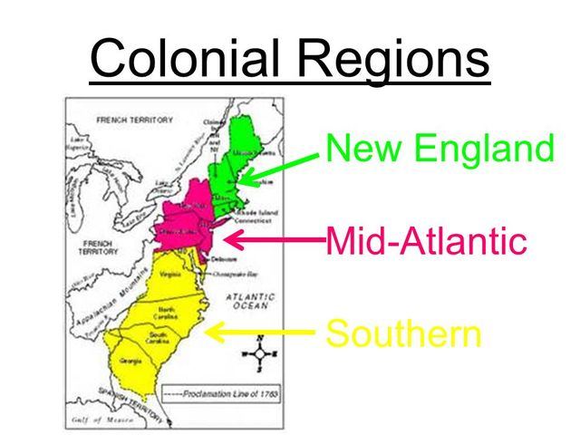 a comparison of the new england and chesapeake regions Slavery comparison slavery in new england/middle  the chesapeake  region were both settled by largely people of english origin,.