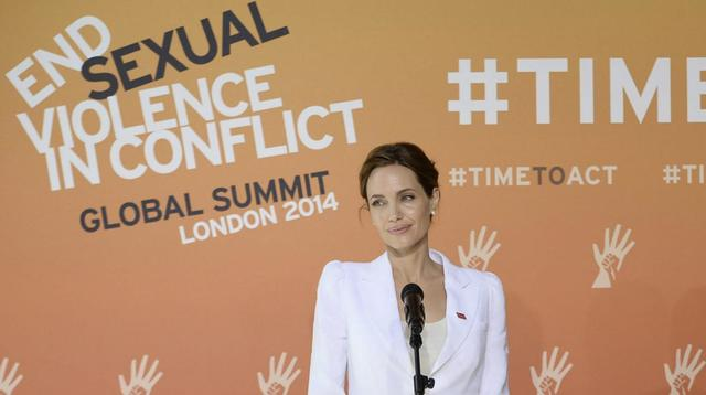 Against sexual violence in wars