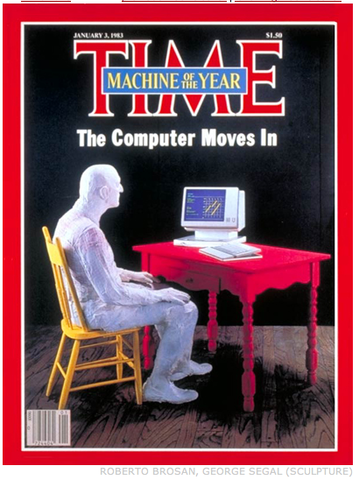 TIME Magazine roept de computer uit tot 'Person of the Year'