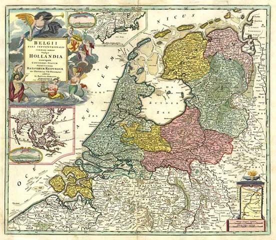 The Dutch Republic was created.