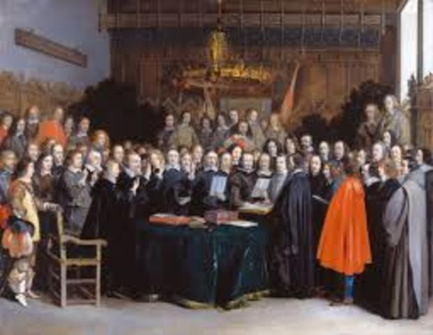 The Peace of Westphalia ended the Thirty Years' War