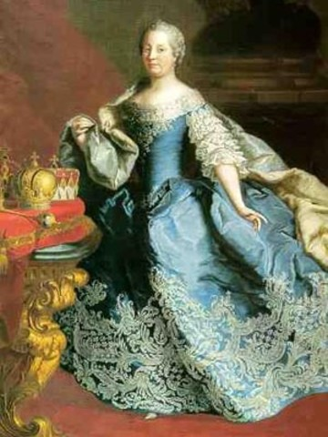 Maria Theresa became the leader of Austria
