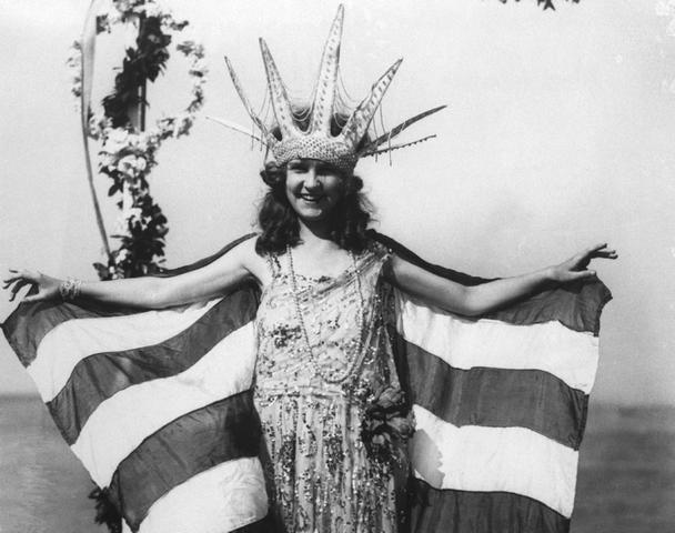 The first Miss America Pageant