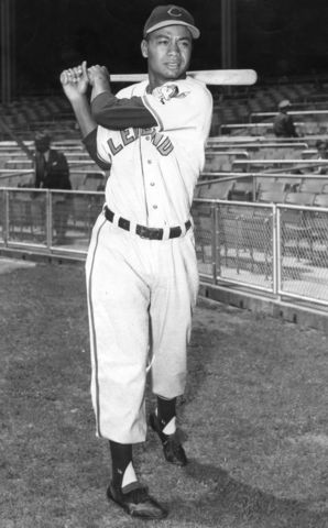 second African American to play Major League Baseball