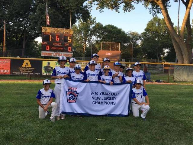 The first New Jersey State Little League Baseball Tournament is played