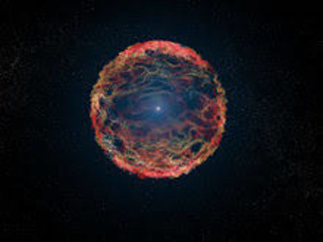 first person to view a supernova