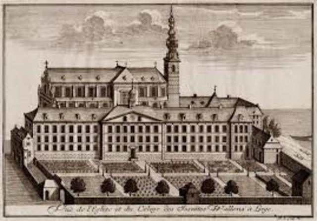 Founding of the College des Jésuites