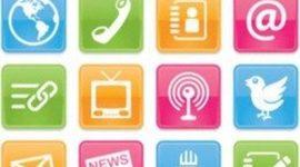 Surgimiento de los Medios de Información y Comunicación timeline