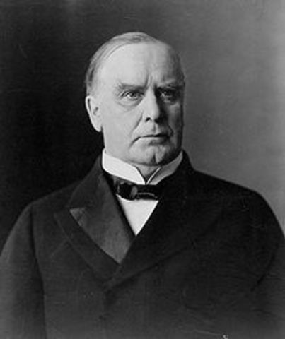 Lasting 3 years, the market was spooked by the assassination of President McKinley and  a severe drought later the same year, caused a decrease in the stock market.