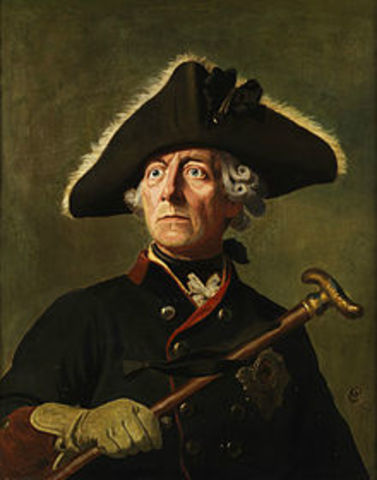 Frederick II (the Great) became the leader of Prussia