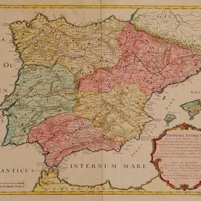 España entre los años 1700 y 1788 timeline