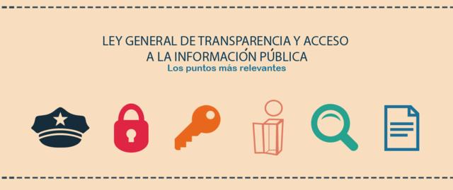 Se promulga la Ley General de Transparencia y Acceso a la Información Pública.