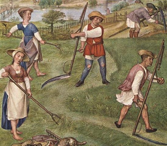картинки крестьян средневековья мастер класс