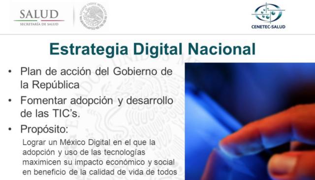 Estrategia Digital Nacional derivada de la Estrategia Gobierno Cercano y Moderno